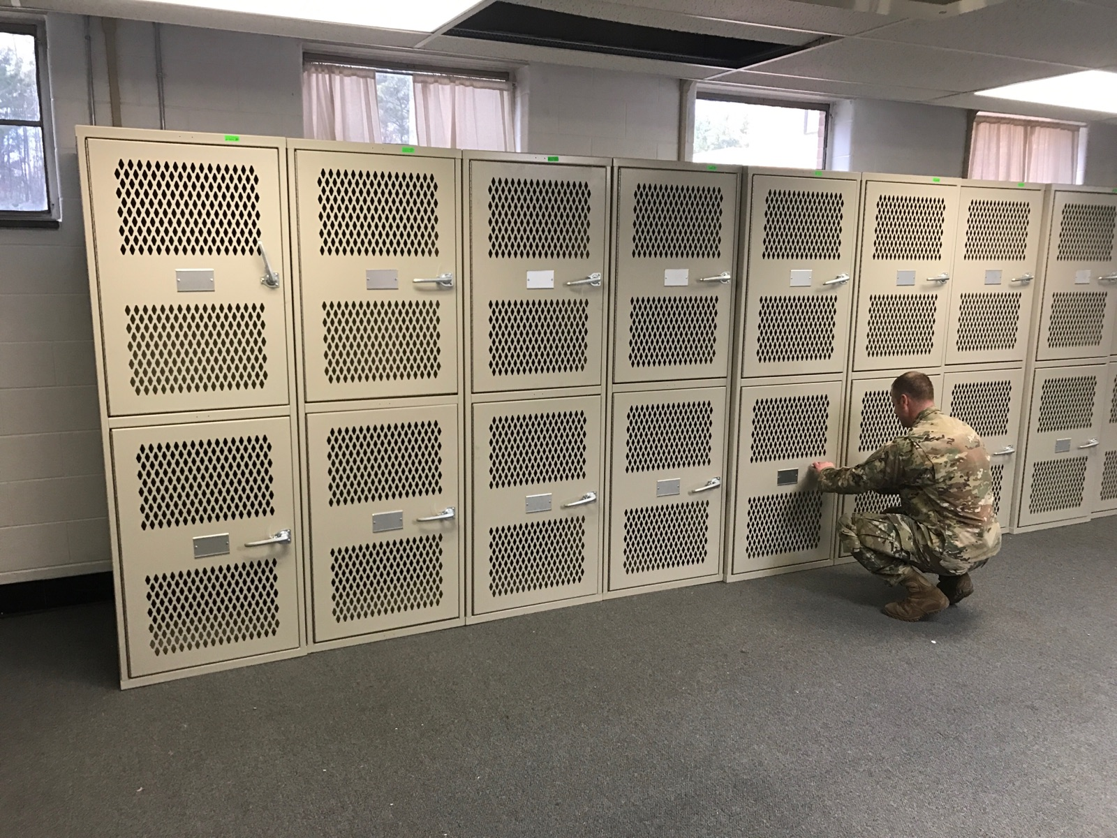 Ta 50 And Ocie Tactical Lockers Tiffin Metal Products
