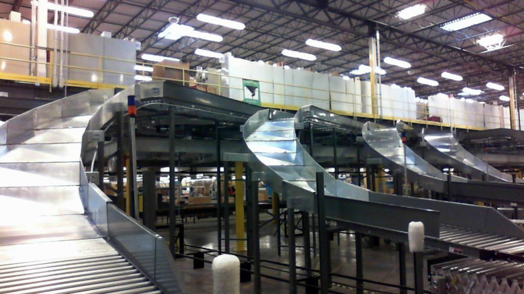 Steel Gravity Chutes - Tiffin Metal Products