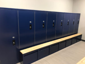 Infinity Locker Installation