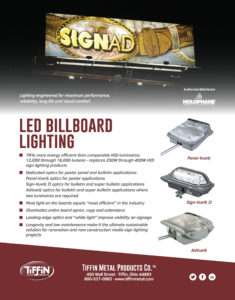 LED Billboard Lighting Cut Sheet