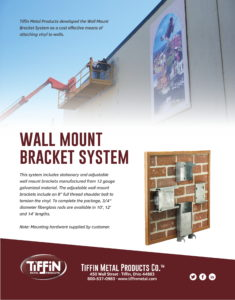 Wall Mount Bracket System Cut Sheet