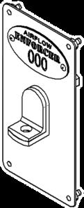 Airflow Enforcer Locker Hasp Lock
