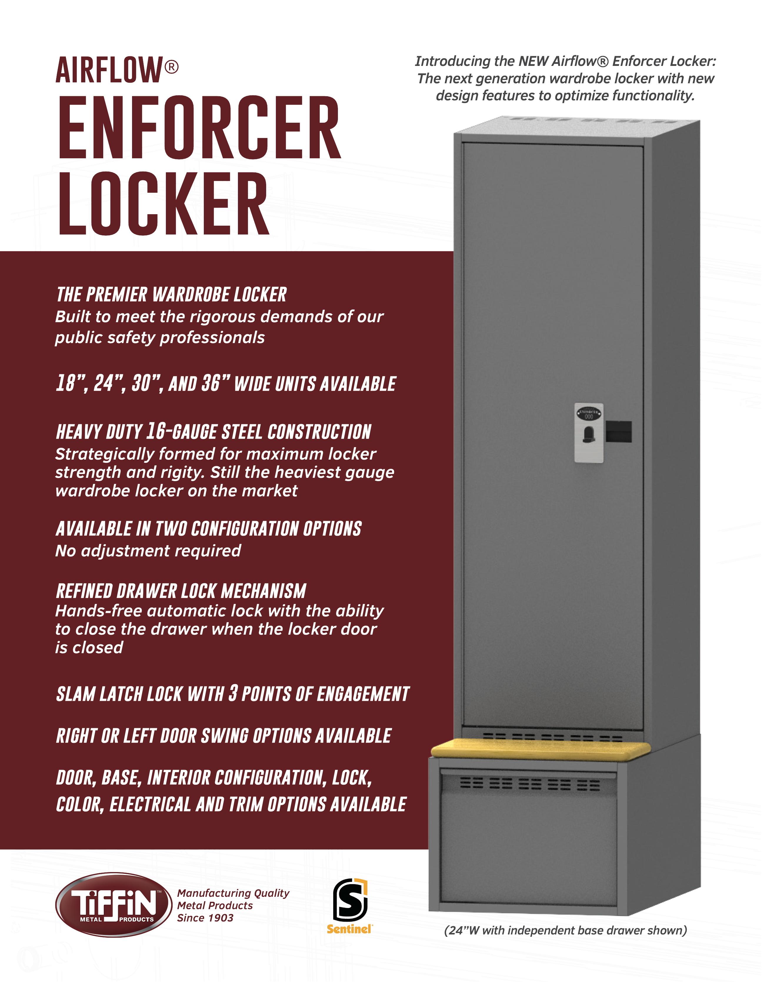 Airflow Enforcer Locker Cut Sheet